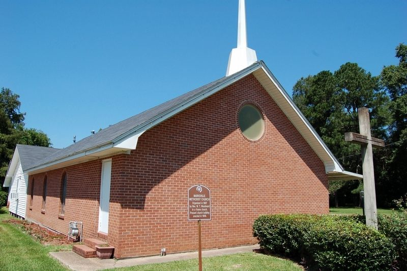 Marksville Methodist Church Marker image. Click for full size.