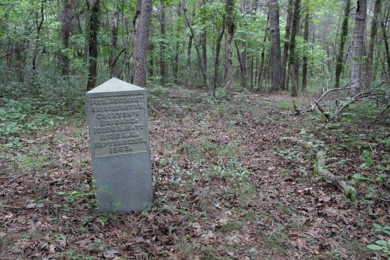 14th Ohio Infantry Marker image. Click for full size.