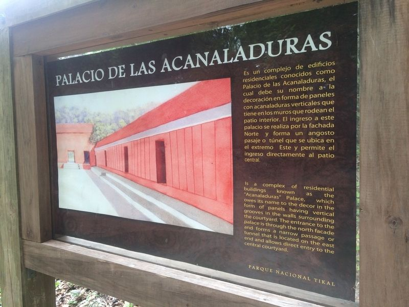 "The ""Acanaladuras"" Palace Marker image. Click for full size."
