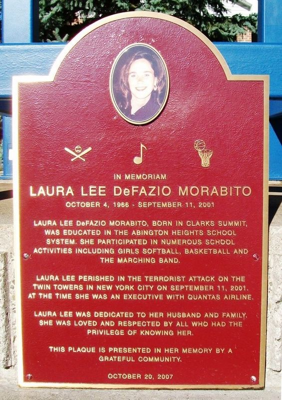 Laura Lee DeFazio Morabito Marker image. Click for full size.