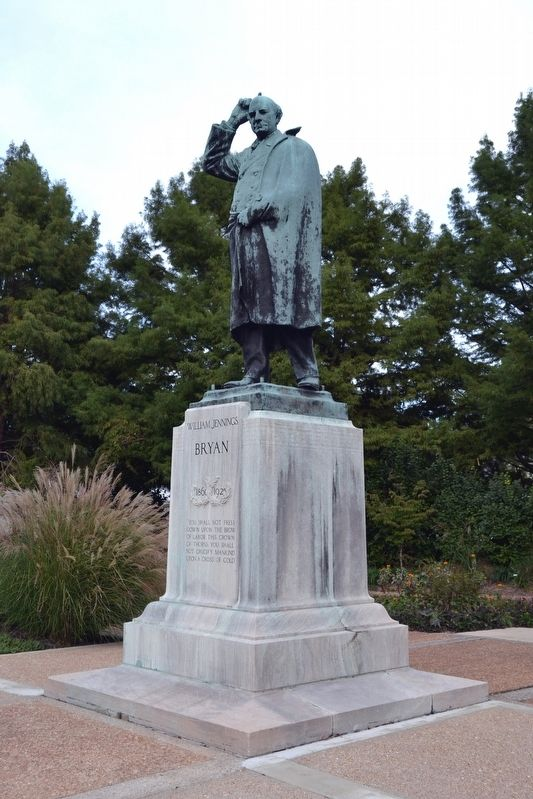 William Jennings Bryan Statue image. Click for full size.