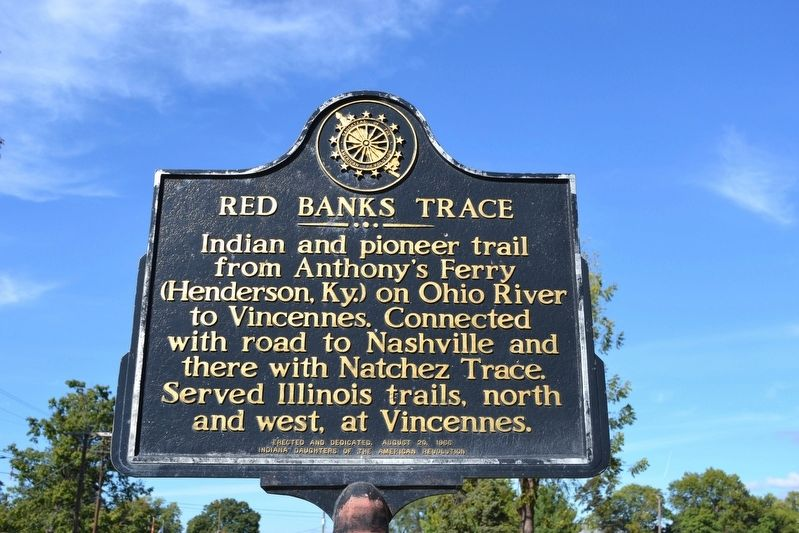 Red Banks Trace Marker image. Click for full size.