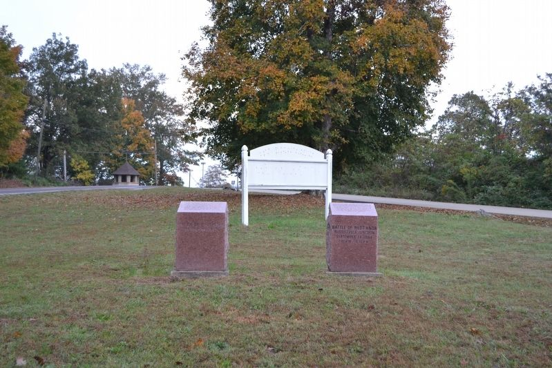 The Arcadia Valley and Russellville Junction Markers image. Click for full size.