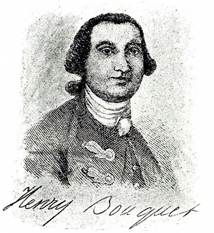 Henry Bouquet<br>1719-1765 image. Click for full size.