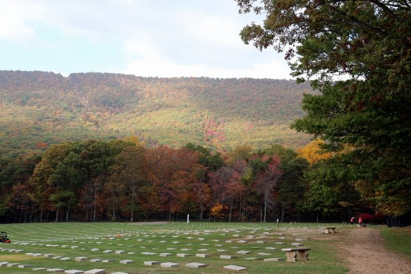 Rocky Gap Veterans Cemetery image. Click for full size.
