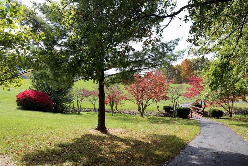 The Grounds at the Rocky Gap Veterans Cemetery image. Click for full size.