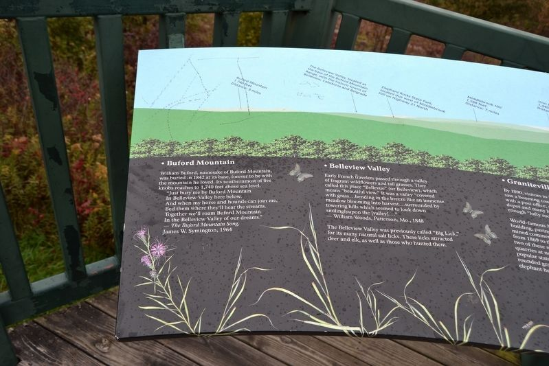 Taum Sauk Mountain State Park Overlook Marker image. Click for full size.