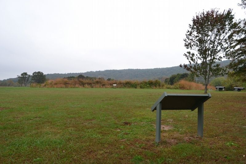Remains of Fort Davidson image. Click for full size.
