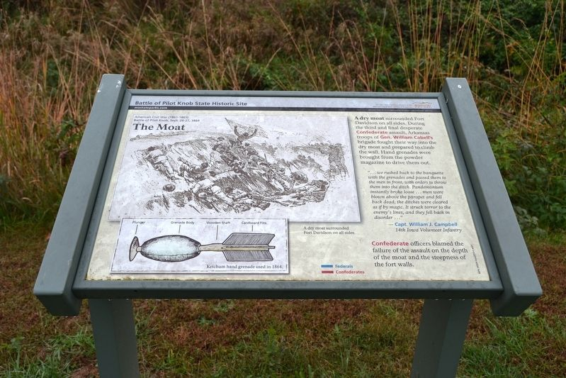 The Moat Marker image. Click for full size.