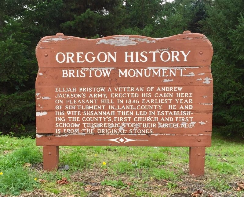 Bristow Monument Marker image. Click for full size.