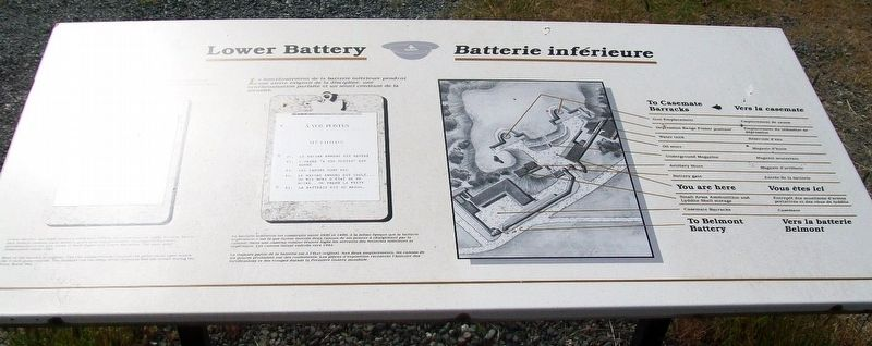 Lower Battery / Batterie inférieure Marker image. Click for full size.