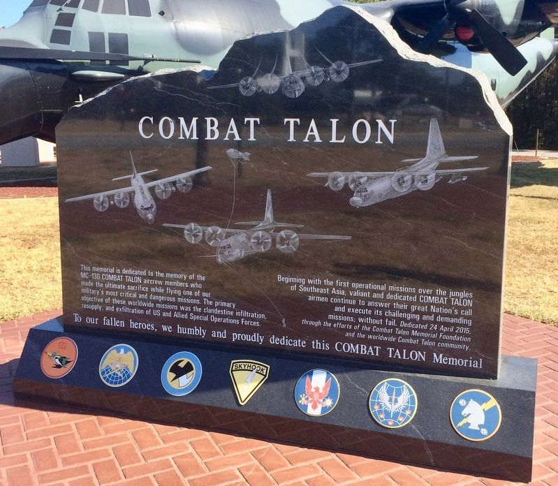 Combat Talon Marker (front) image. Click for full size.