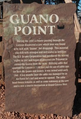 Guano Point Marker image. Click for full size.
