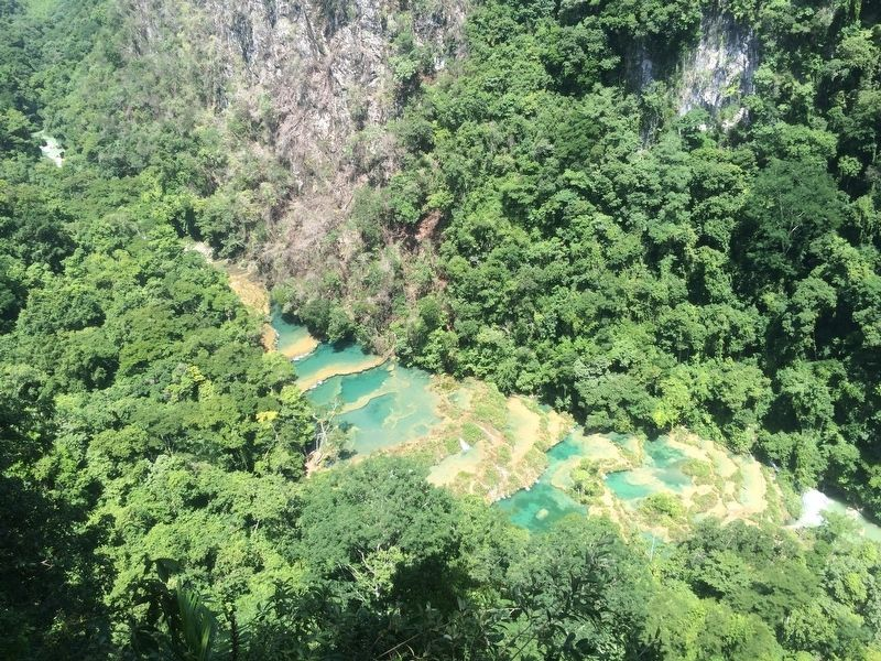 Semuc Champey Pools image. Click for full size.