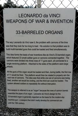 33-barreled Organs Marker image. Click for full size.