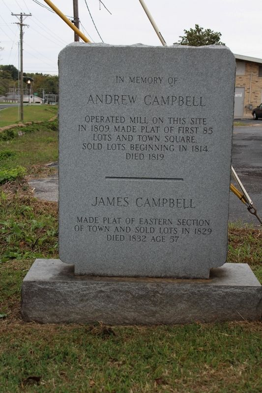 In Memory of Andrew Campbell Marker image. Click for full size.