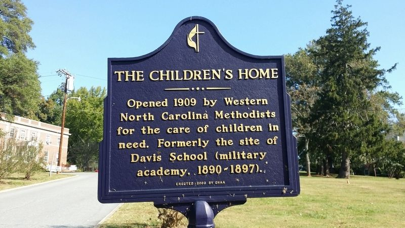 The Children's Home Marker image. Click for full size.