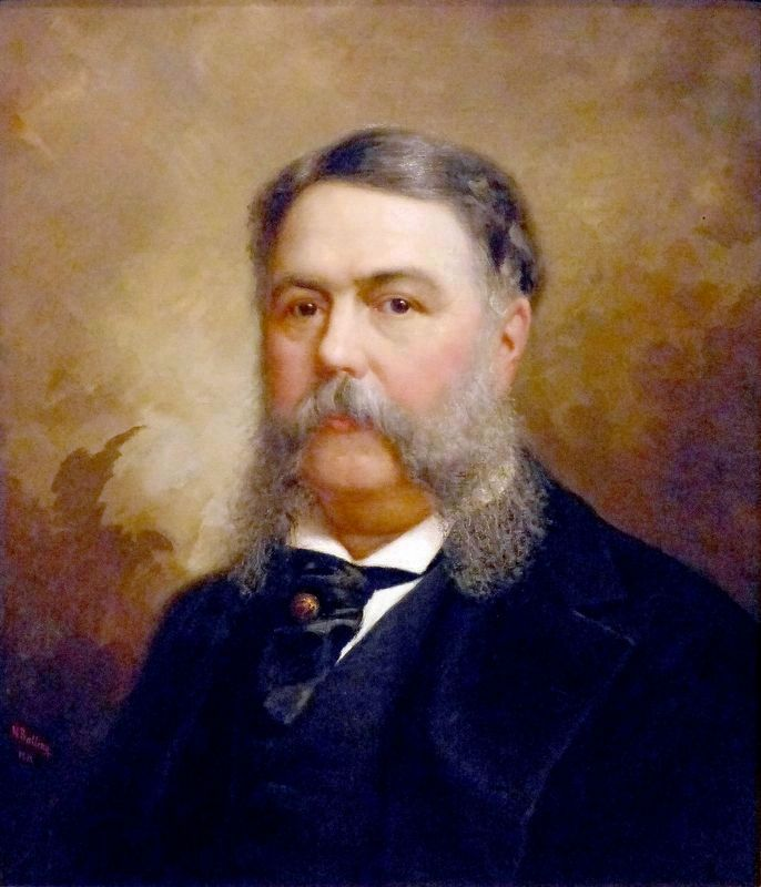 Chester A. Arthur (1830-1886)<br>Twenty-first president, 1881-85 image. Click for full size.