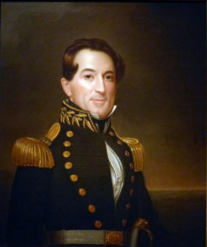 David Glasgow Farragut (1801-1870) image. Click for full size.