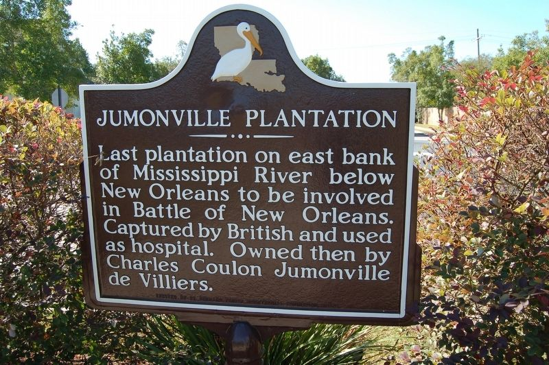 Jumonville Plantation Marker image. Click for full size.