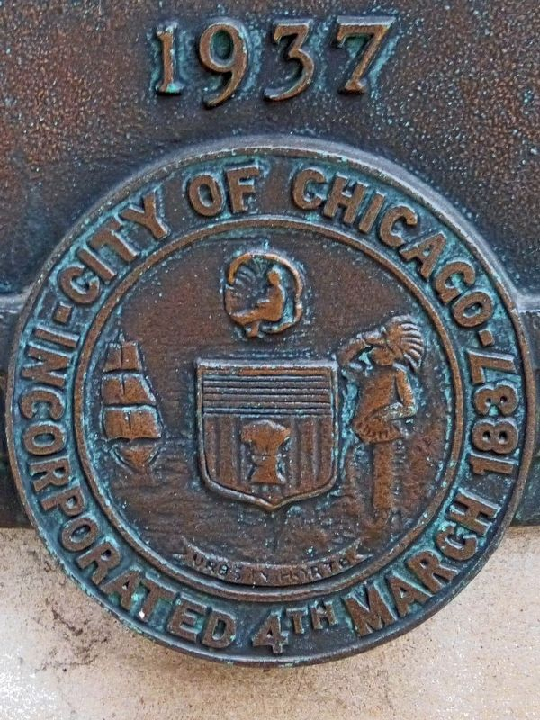 Seal of the City of Chicago image. Click for full size.