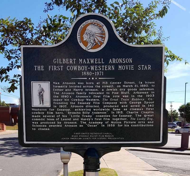 Gilbert Maxwell Aronson Marker image. Click for full size.