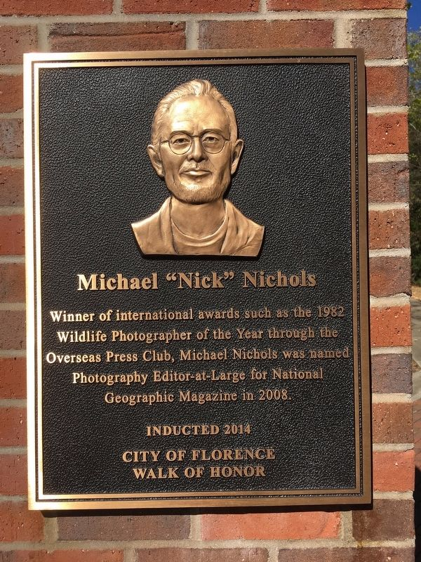 "Michael ""Nick"" Nichols Marker image. Click for full size."