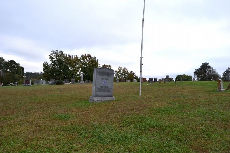 Monument and Burial Ground of Confederate Soldiers image. Click for full size.