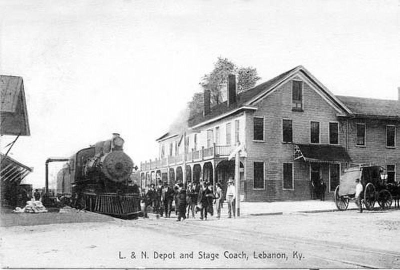The L&N Depot image. Click for full size.