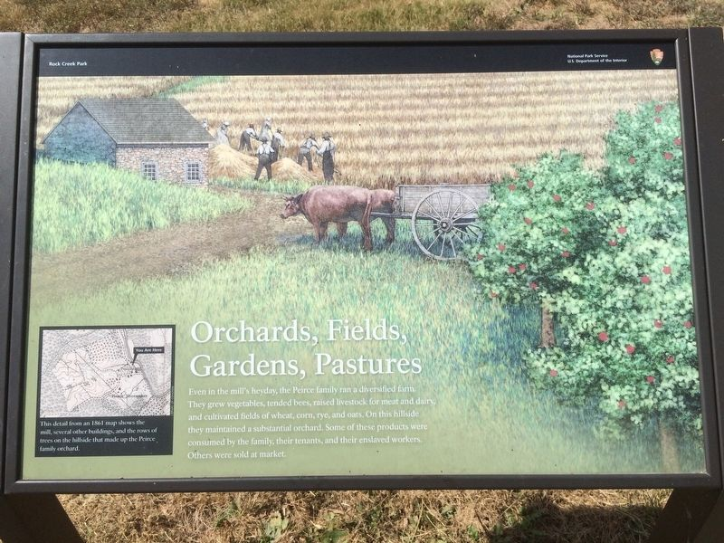 Orchards, Fields, Gardens, Pastures Marker image. Click for full size.