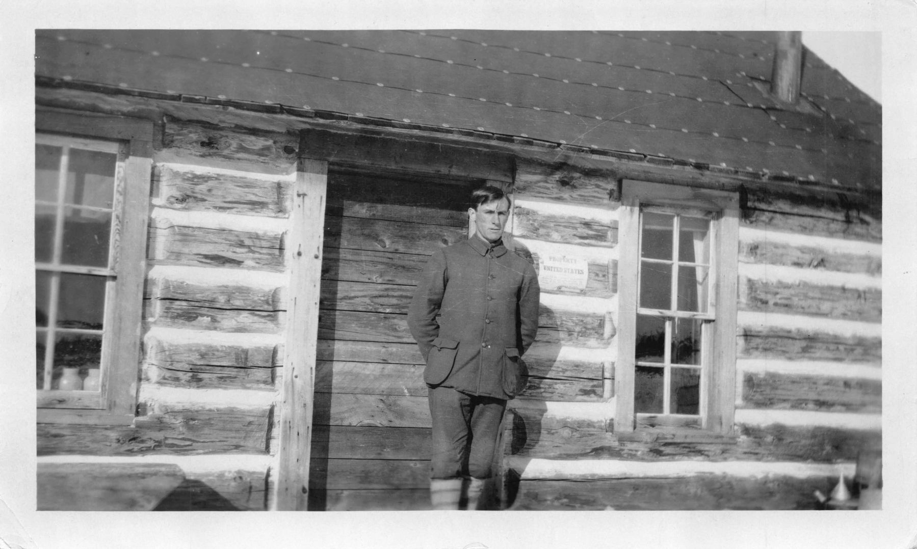 The Original Cut Foot Sioux Ranger Station Cabin image. Click for full size.