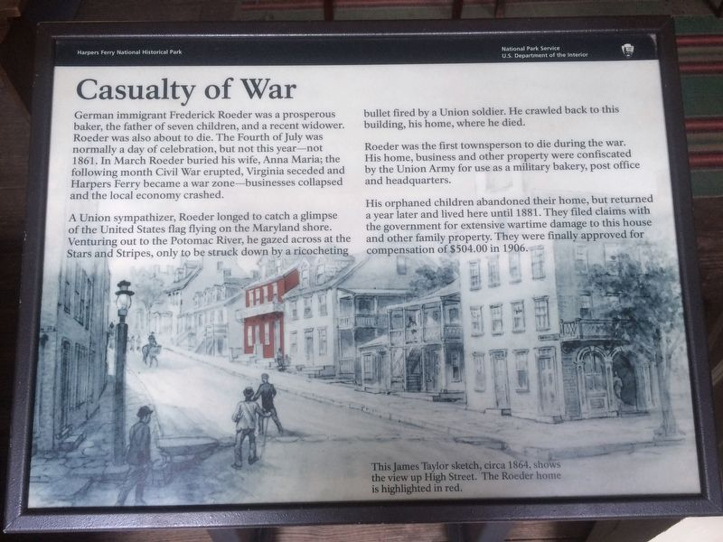 Casualty of War Marker image. Click for full size.