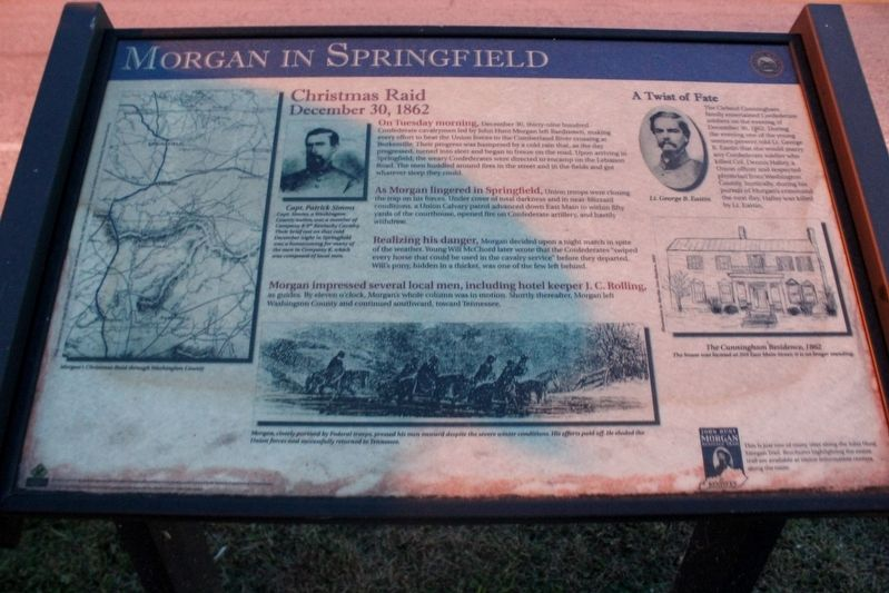 Morgan in Springfield Marker image. Click for full size.