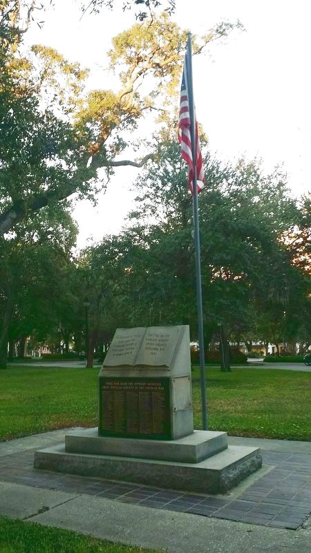 Pinellas County Veterans Memorial Marker image. Click for full size.