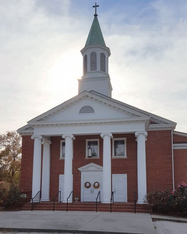 Laurel Hill United Methodist Church image. Click for full size.
