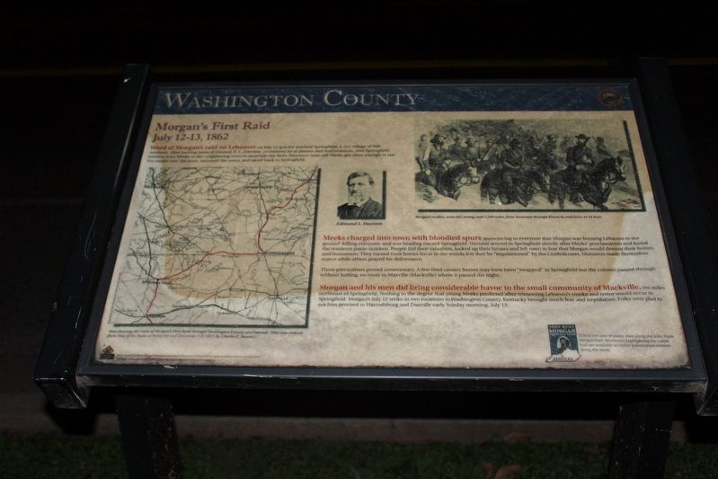 Washington County Marker image. Click for full size.