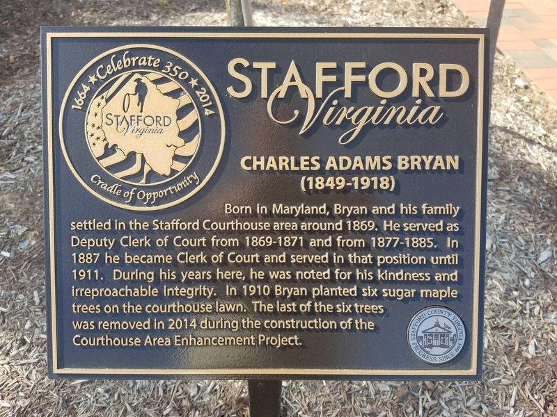 Charles Adams Bryan Marker image. Click for full size.
