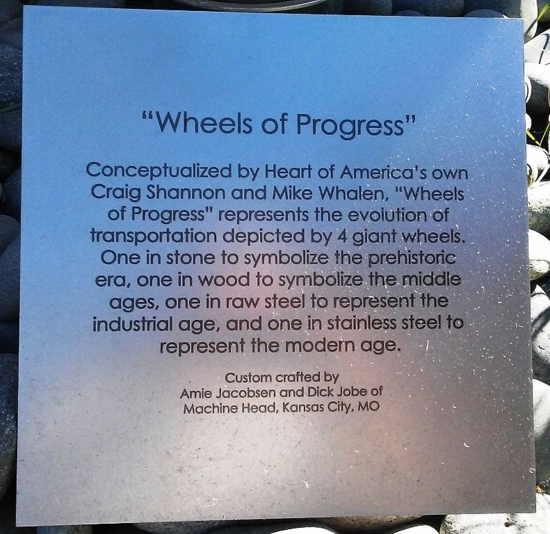 """Wheels of Progress"" Marker image. Click for full size."