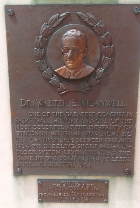 Dr. Walter E. Meanwell Marker image. Click for full size.