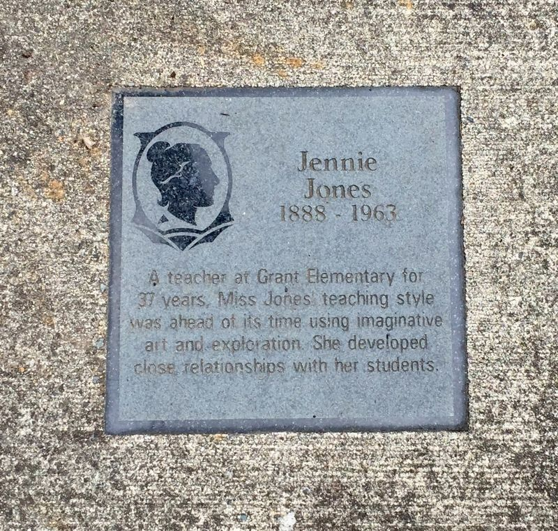 Jennie Jones Marker image. Click for full size.