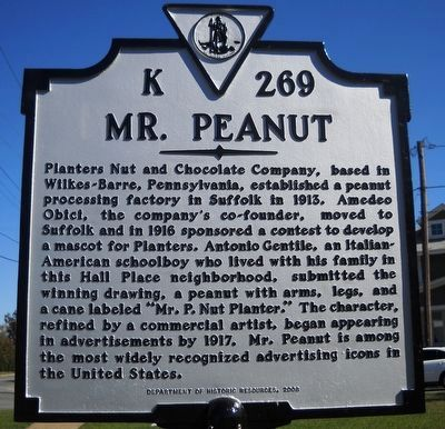 Mr. Peanut image. Click for full size.