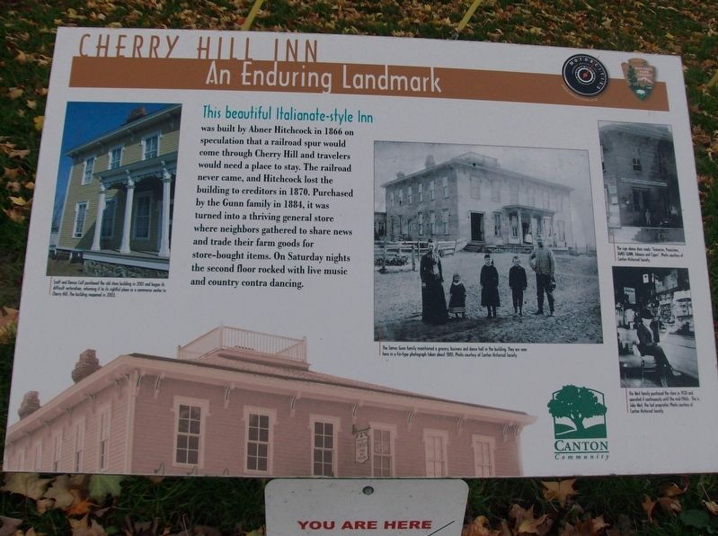 Cherry Hill Inn: An Enduring Landmark Marker image. Click for full size.