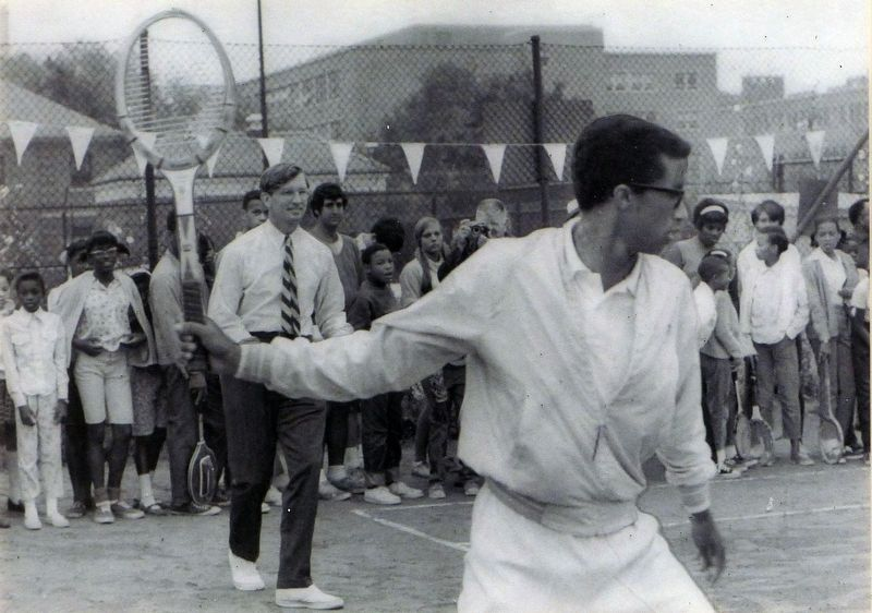 Arthur Ashe image. Click for full size.