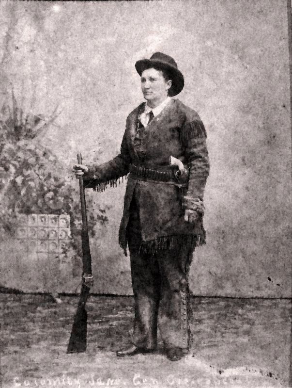 Calamity Jane image. Click for full size.