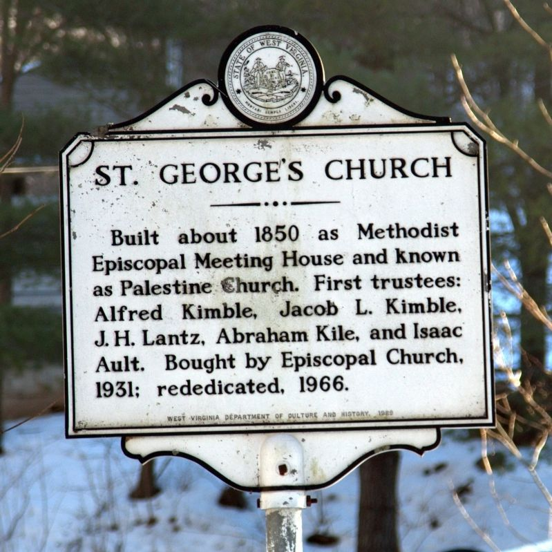 St. George's Church Marker image. Click for full size.