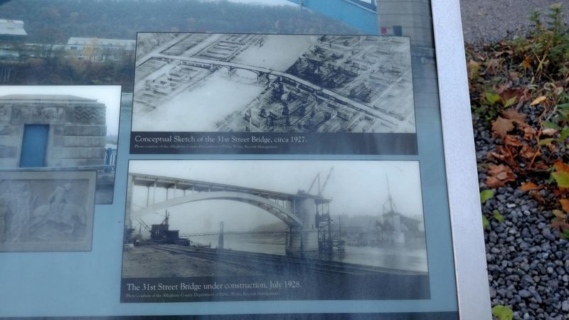 31st Street Bridge Marker image. Click for full size.
