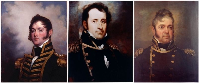 Naval Heroes of the War of 1812 image. Click for full size.
