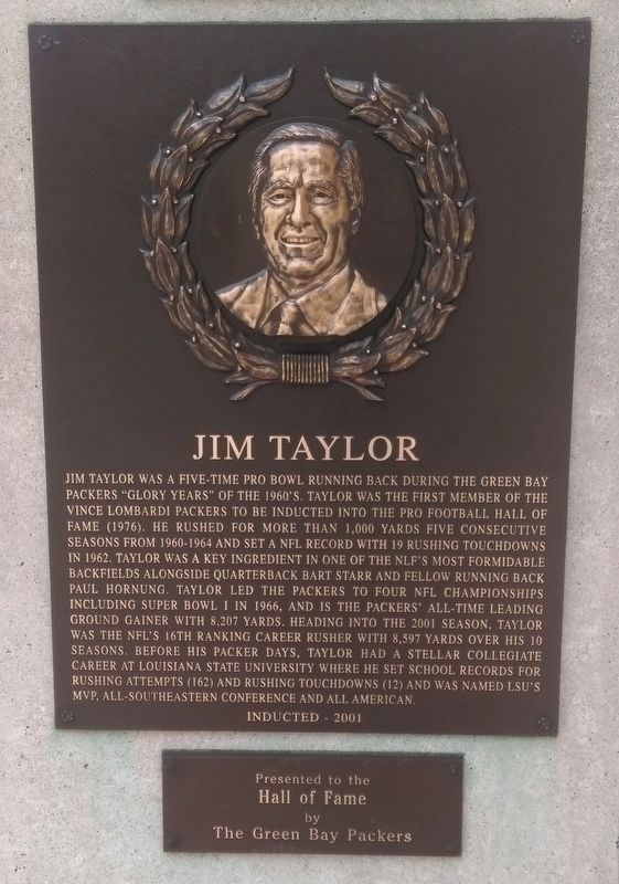 Jim Taylor Marker image. Click for full size.