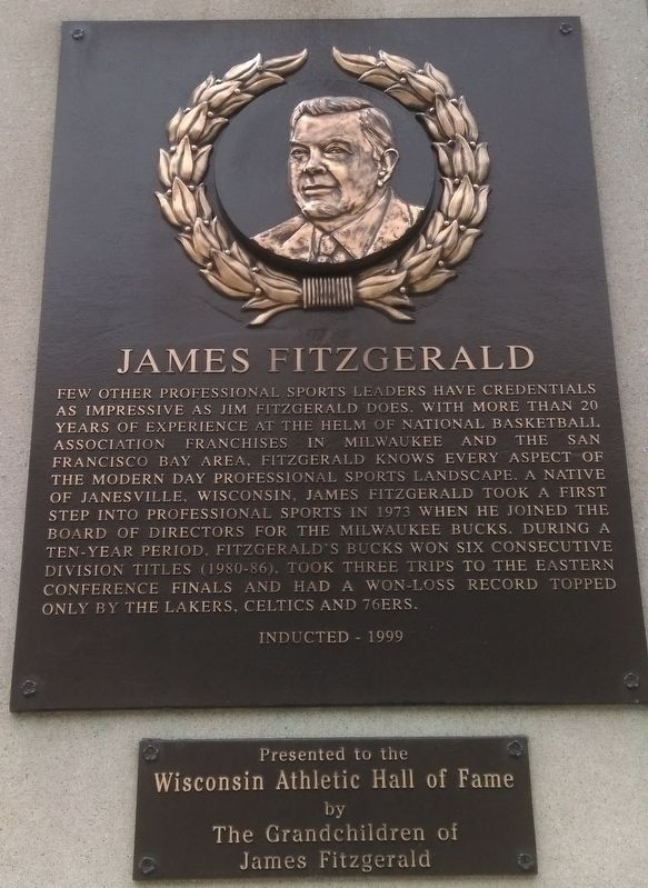 James Fitzgerald Marker image. Click for full size.