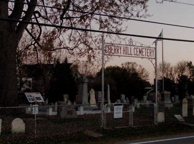 Cherry Hill Cemetery and Markers image. Click for full size.